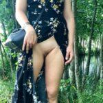 No panties letussharewithyou: Raw nature meets citygirl 👌👌👌 /Master pantiesless