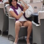 Exposed in public Sexy MILF…