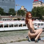 Public flashing photo purepublicnudity: This is public nudity flashing perfection!