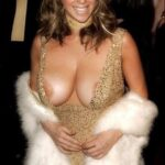 Exposed in public Just too much for the dress…