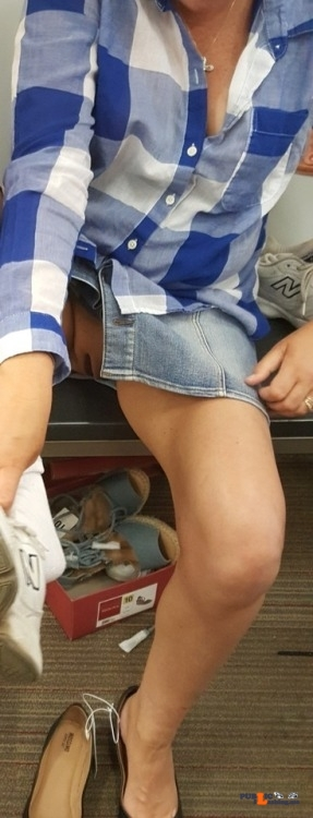 No Panties If-You-Could-See-Through-My-Eyes Trying On -9886
