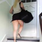 No panties mastersbuttcat: #buttcat after gym last night. a quick shot. pantiesless