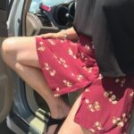 No panties lalamelange: Short swingy skirt + no panties + breezy day = FUN… pantiesless