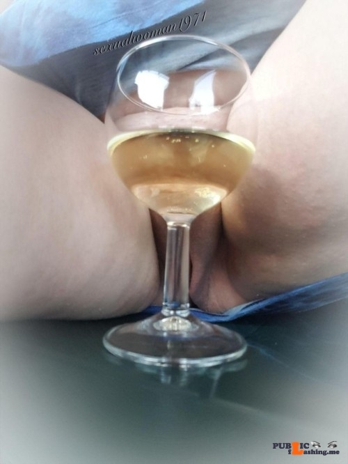 No panties sexualwoman1971: Cheers from our holiday adres somewhere in… pantiesless