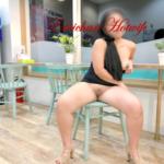 No panties emichanhotwife: Sex dress in the laundry?? pantiesless