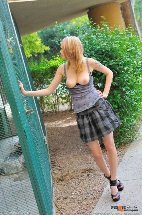FTV Babes Cute FTV Girl checks out the animals while we check out her tits…
