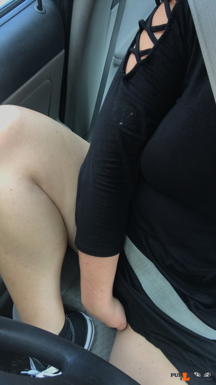 No panties ticktock6039: Needy Car Ride ??? pantiesless
