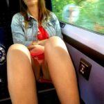 No panties richaz69: Marlow to maidenhead train ride pantiesless
