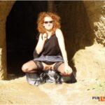 No panties alistergee: Da war's noch sonnig und warm 😎 pantiesless