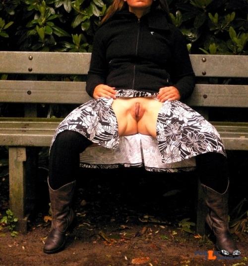 Public Flashing Photo Feed : No panties marajania: Spread my legs to show my best pantiesless