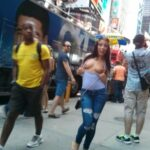 Public nudity photo nudeandnaughtyflashing: Adriana Chechik flashing in NYC Follow…