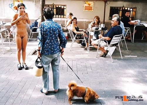 "Public nudity photo nakedenfcaptions:""What are you talking about Mike? My clothes…"