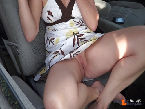 No panties coldweathernudist: Giving the valet a tip. pantiesless