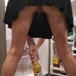 No panties goodgirlbadreputation: I need another beer !! GGBR pantiesless